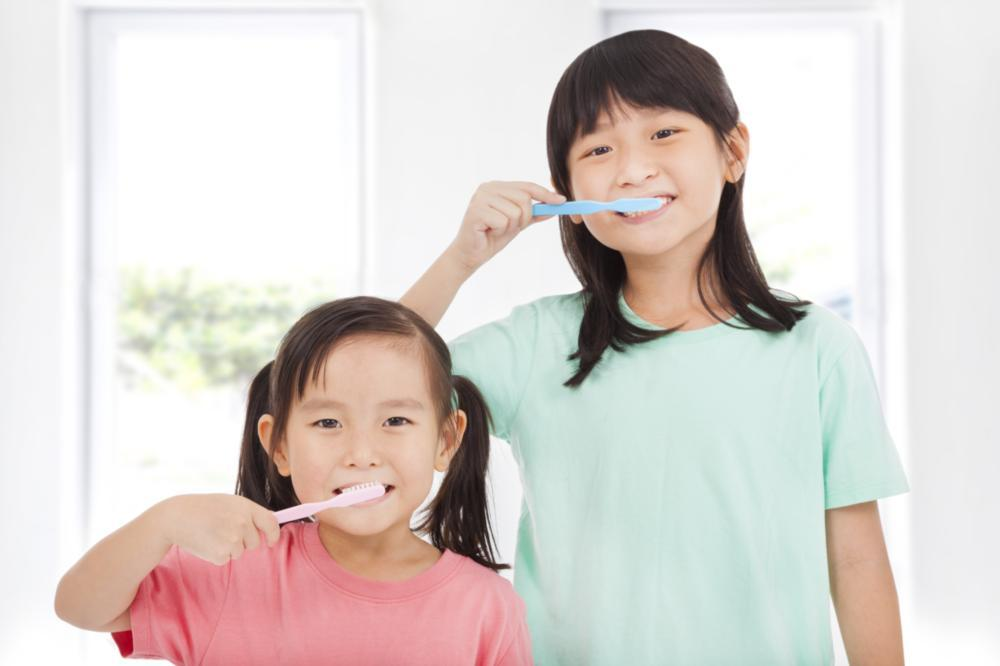Children Brushing Alone | Temple TX Dentist