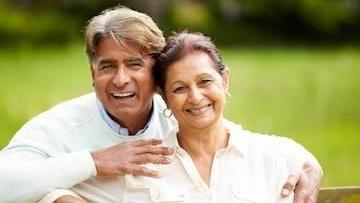 Older Couple | Dental Implants Temple TX