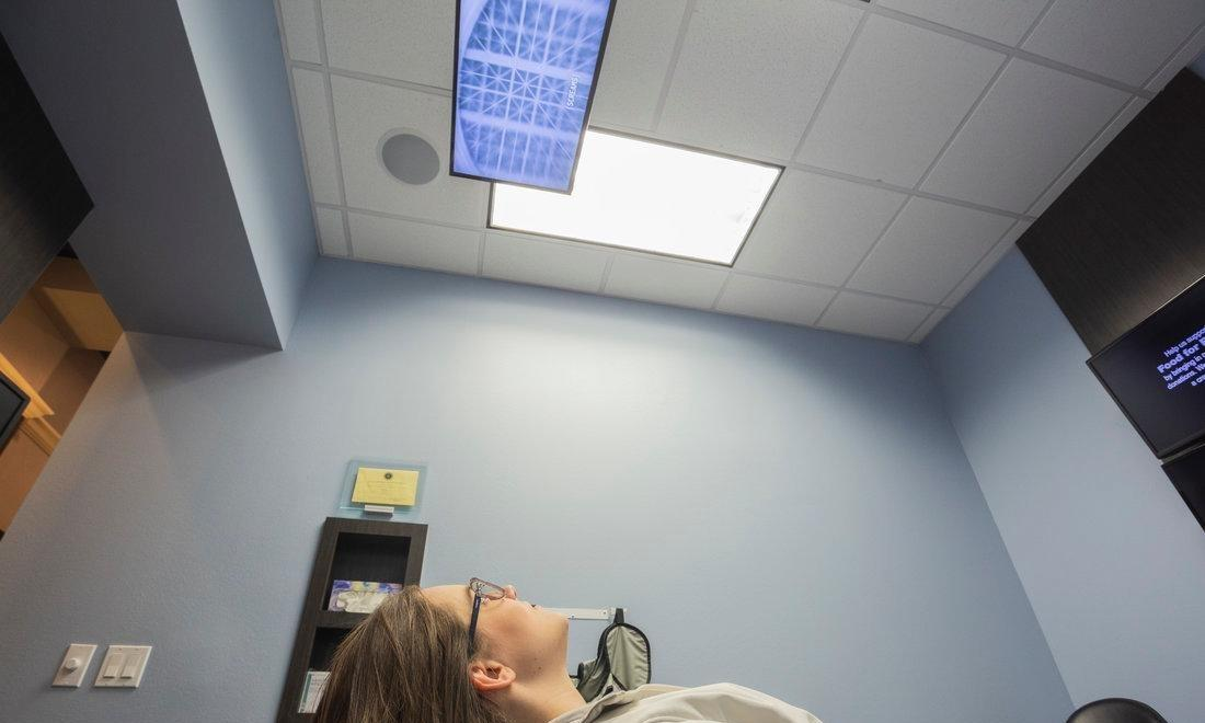 Dental Offices With Ceiling TVs | Temple TX