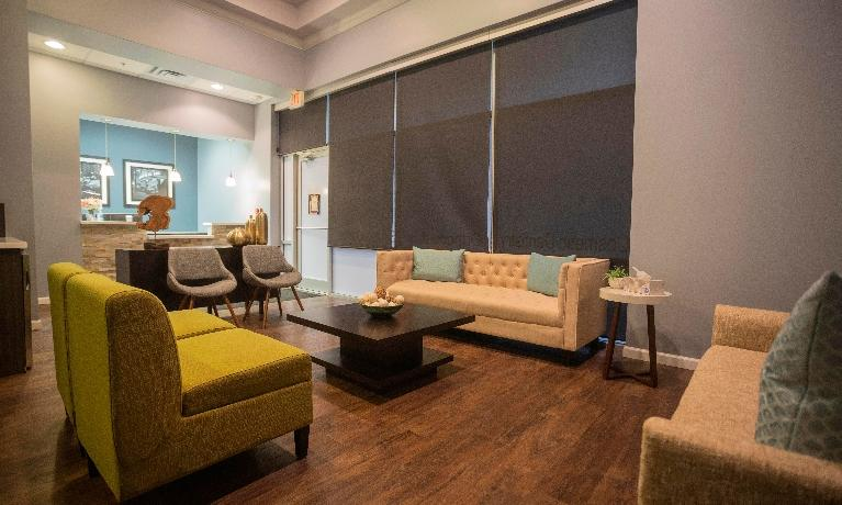 Dental Office Temple TX | Cozy Waiting Room